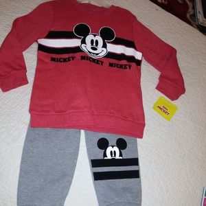 Mickey Mouse Swear Suit